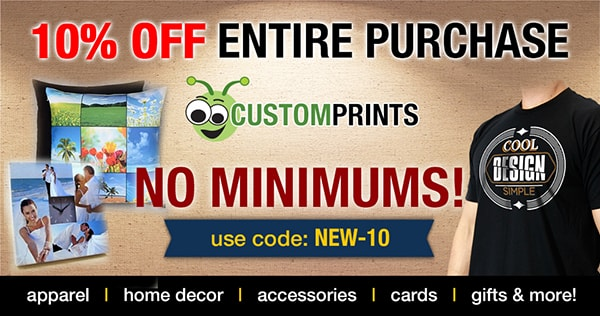 shop custom prints for no minimum printing