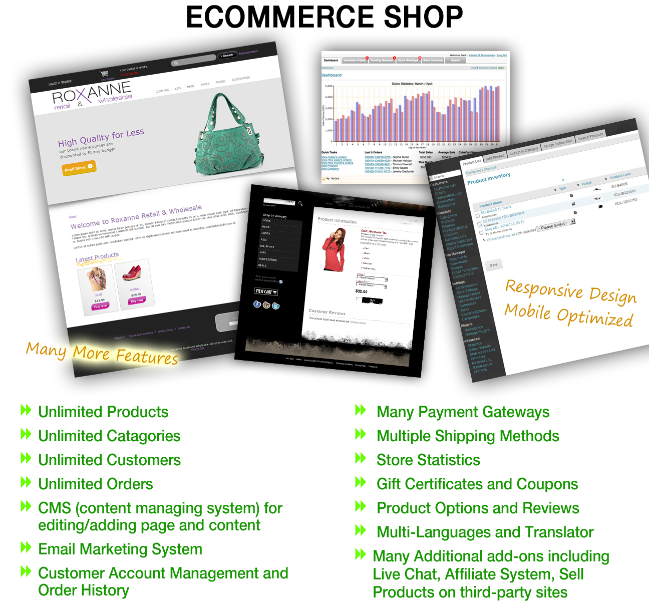 eCommerce Shopping Website