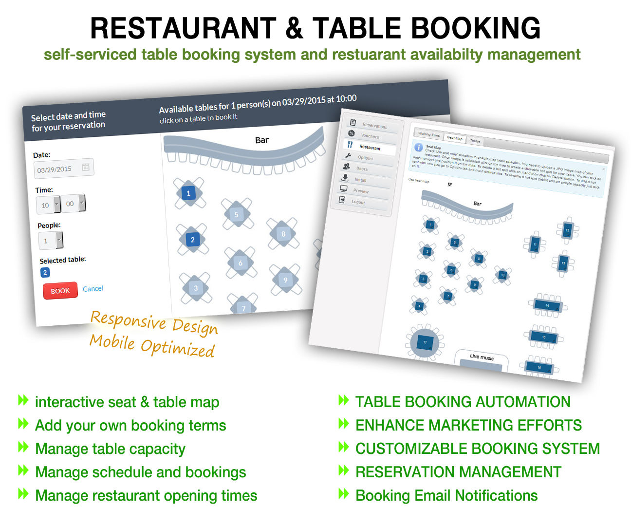 Restaurant Table Reservation System