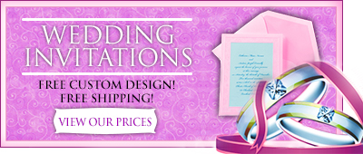 Discounted Wedding Invitations and Custom Wedding Invitations